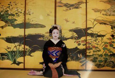 京都で舞妓体験してきました